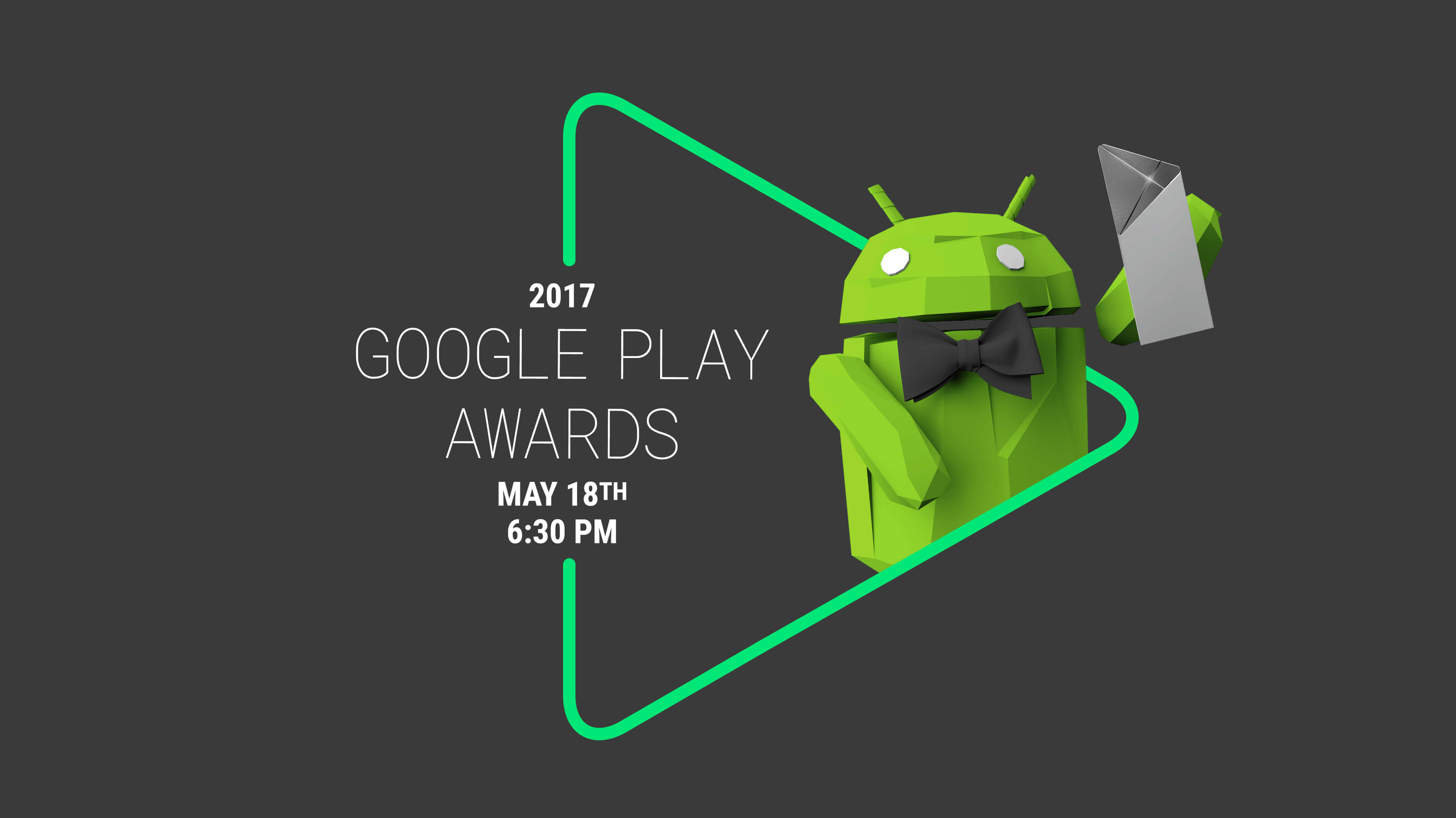 Google Play Awards - 2017 Poster