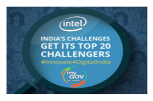 Intel Innovate for Digital India Challenge Banner