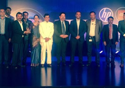 Winners of Digital India Conclave Posing for photo after the award ceremony