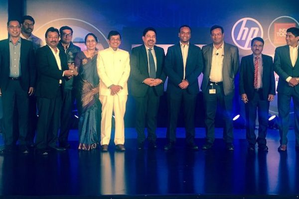 Winners of Digital Indian Conclave's Digita TrailBlazers Award